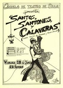 1985 SANTOS, SANTONES Y CALAVERAS disseny Jesús Padilla