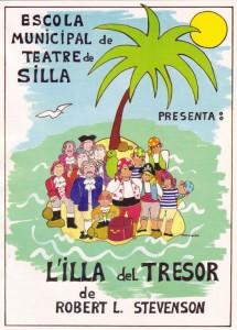 1988 L'ILLA DEL TRESOR disseny Rosa Viguer