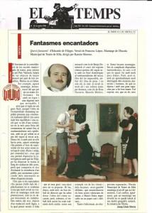 1990 Crítica QUESTI FANTASMI! El Temps