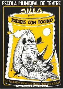 1990 PATATAS CON TOCINO disseny Jesús Padilla