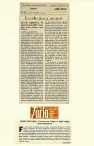 1991 Críticas QUESTI FANTASMI! Levante - Turia
