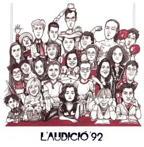 1992 L'AUDICIÓ 92 disseny Jesús Padilla