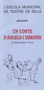 1993 UN CONTE D'ÀNGELS I DIMONIS disseny Enric Juezas