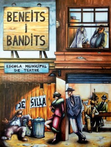 1994 BENEITS I BANDITS disseny Panchi Vivó