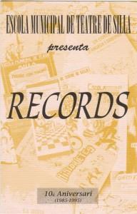 1995 RECORDS disseny Benja Domènech