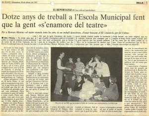 1997 Reportatge a El Punt