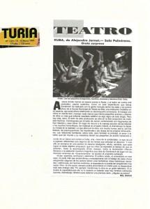 1999 Crítica KUBA Turia