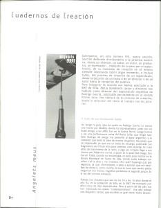 2003 Article de  Benja Domènech ACOTACIONES nº 8 1