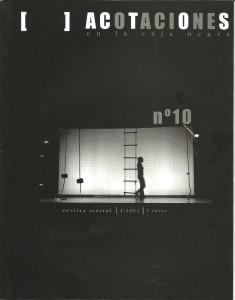 2004 Portada ACOTACIONES nº 10
