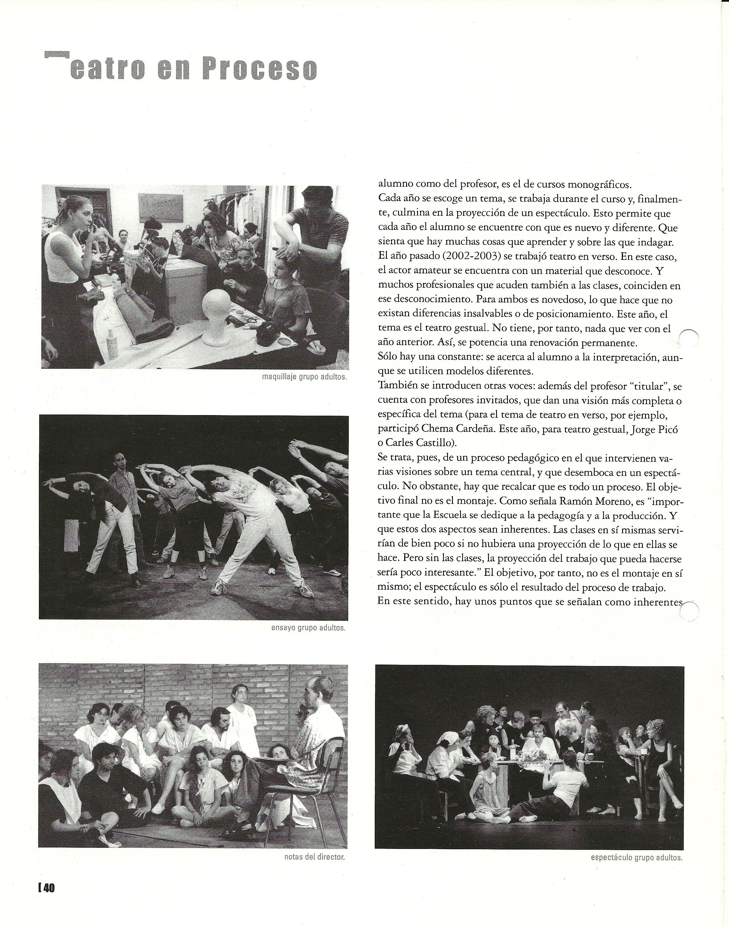 2004 Reportatge en Acotaciones nº 3