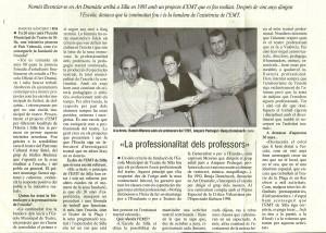 2005 Entrevista en El Punt