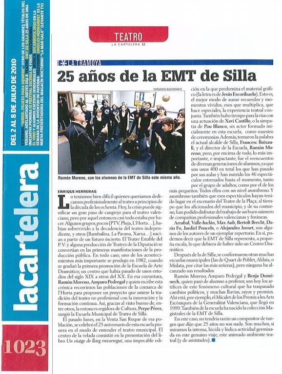 2010 Levante 25 aniversari EMT Silla