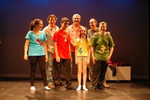 2012 amb el grup dels menuts