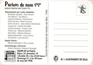 1998 Parlem de sexe!