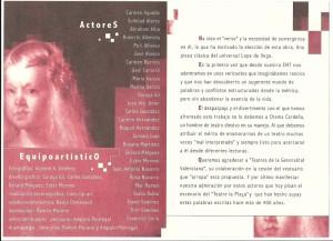 2003 Los melindres de Belisa