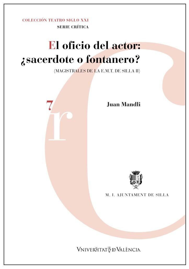 El oficio del actor JUAN MANDLI