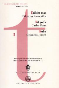 Portada del llibre amb obres de Carles Pons, Eduardo Zamanillo i Alejandro Jornet
